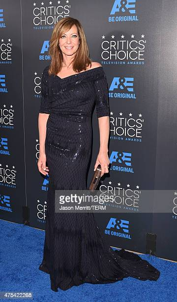 Actress Allison Janney attends the 5th Annual Critics' Choice Television Awards at The Beverly Hilton Hotel on May 31 2015 in Beverly Hills California