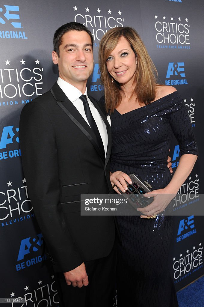 Actress Allison Janney (R) attends the 5th Annual Critics' Choice Television Awards at The Beverly Hilton Hotel on May 31, 2015 in Beverly Hills, California.