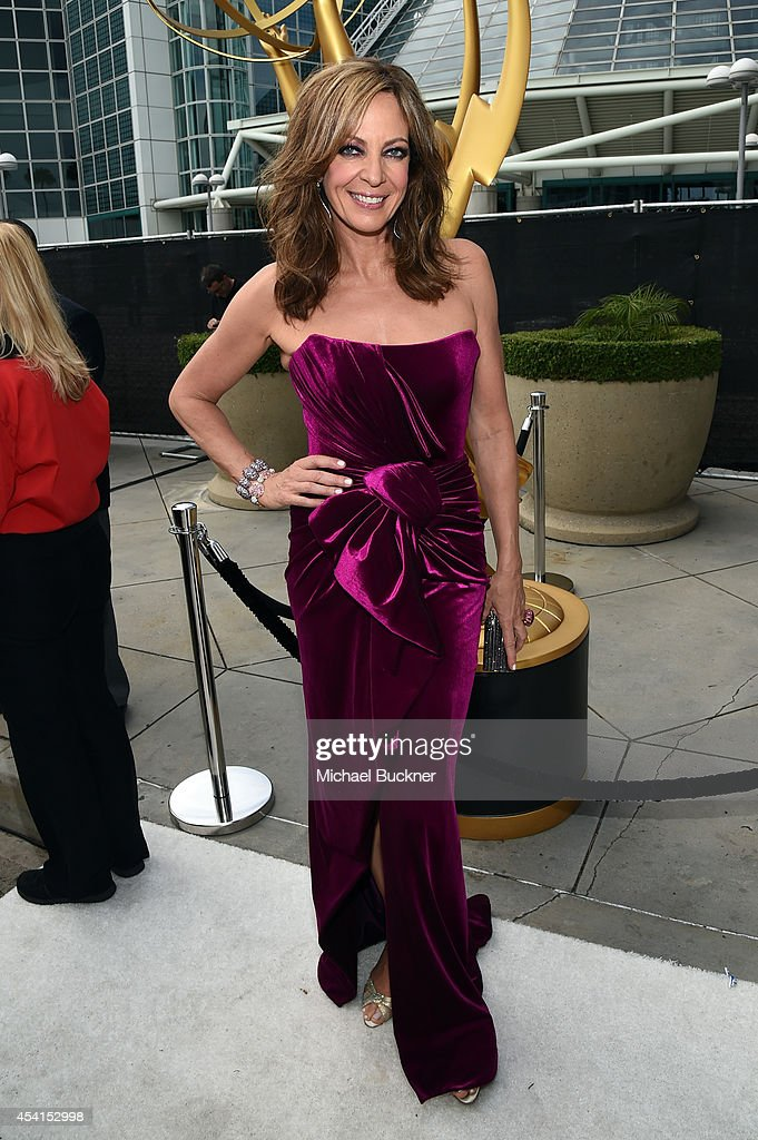Actress Allison Janney attends the 66th Annual Primetime Emmy Awards held at Nokia Theatre LA Live on August 25 2014 in Los Angeles California