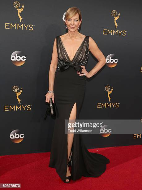 Actress Allison Janney attends the 68th Annual Primetime Emmy Awards at Microsoft Theater on September 18 2016 in Los Angeles California