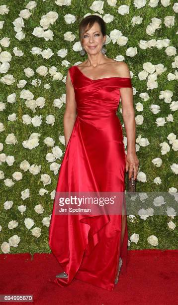 Actress Allison Janney attends the 71st Annual Tony Awards at Radio City Music Hall on June 11 2017 in New York City