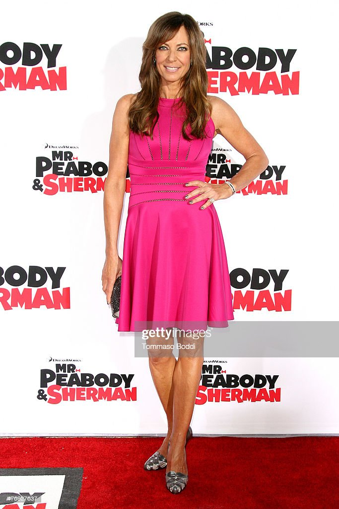 Actress Allison Janney attends the 'Mr. Peabody & Sherman' Los Angeles premiere held at the Regency Village Theatre on March 5, 2014 in Westwood, California.