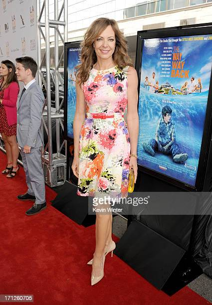 Actress Allison Janney attends the premiere of Fox Searchlight Pictures' 'The Way Way Back' at Regal Cinemas LA Live on June 23 2013 in Los Angeles...