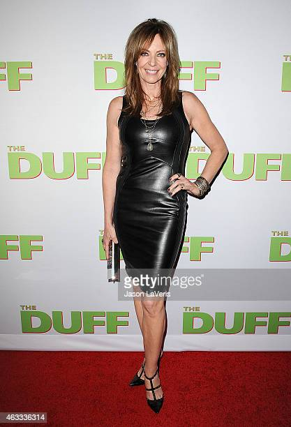 Actress Allison Janney attends the premiere of 'The Duff' at TCL Chinese 6 Theatres on February 12 2015 in Hollywood California