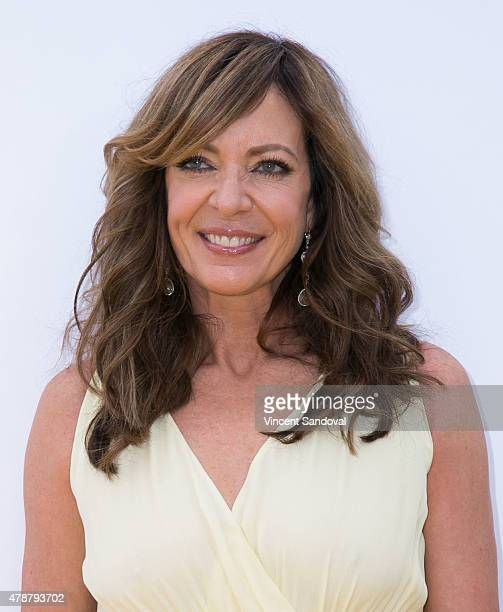 Actress Allison Janney attends the premiere of Universal Pictures and Illumination Entertainment's 'Minions' at The Shrine Auditorium on June 27 2015...
