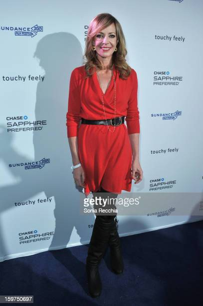 Actress Allison Janney attends the Premiere Party presented by Chase Sapphire at The Shop during the 2013 Sundance Film Festival on January 19 2013...