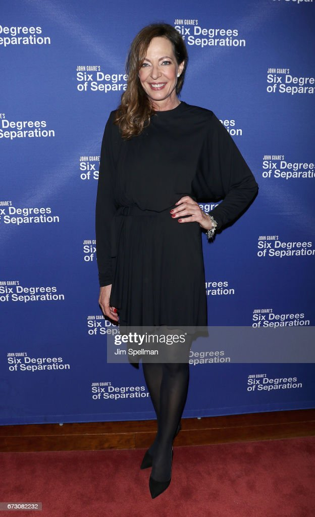 Actress Allison Janney attends the 'Six Degrees of Separation' Broadway opening night after party at Brasserie 8 1/2 on April 25, 2017 in New York City.