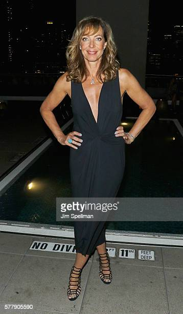 Actress Allison Janney attends the special screening after party for 'Tallulah' hosted by Netflix at Jimmy at The James Hotel on July 19 2016 in New...
