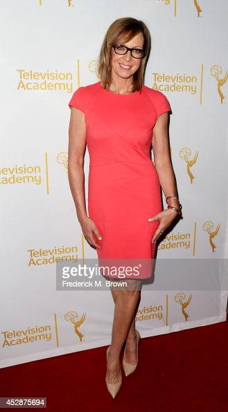 Actress Allison Janney attends the Television Academy's Performers Peer Group Celebrates the 66th Emmy Awards at the Montage Beverly Hills Hotel on...