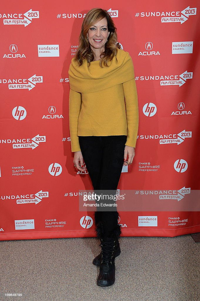 Actress Allison Janney attends the 'The Way, Way Back' premiere at Eccles Center Theatre during the 2013 Sundance Film Festival on January 21, 2013 in Park City, Utah.