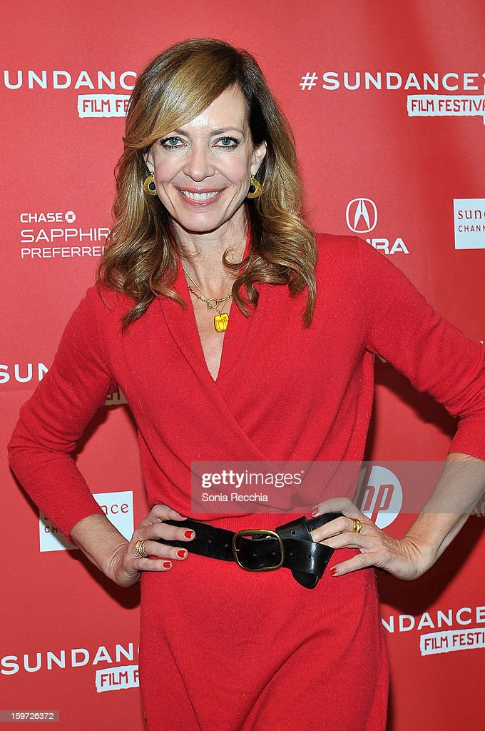 Actress Allison Janney attends the 'Touchy Feely' premiere at Eccles Center Theatre during the 2013 Sundance Film Festival on January 19, 2013 in Park City, Utah.