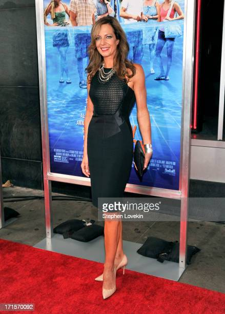 Actress Allison Janney attends 'The Way Way Back ' New York Premiere at AMC Loews Lincoln Square on June 26 2013 in New York City