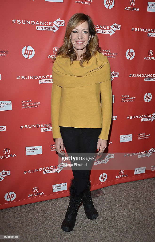 Actress Allison Janney attends 'The Way, Way Back' premiere at Eccles Center Theatre during the 2013 Sundance Film Festival on January 21, 2013 in Park City, Utah.