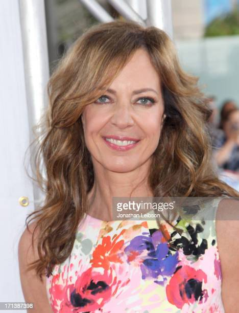 Actress Allison Janney attends 'The Way Way Back' premiere sponsored by DIRECTV during the 2013 Los Angeles Film Festival at Regal Cinemas LA Live on...