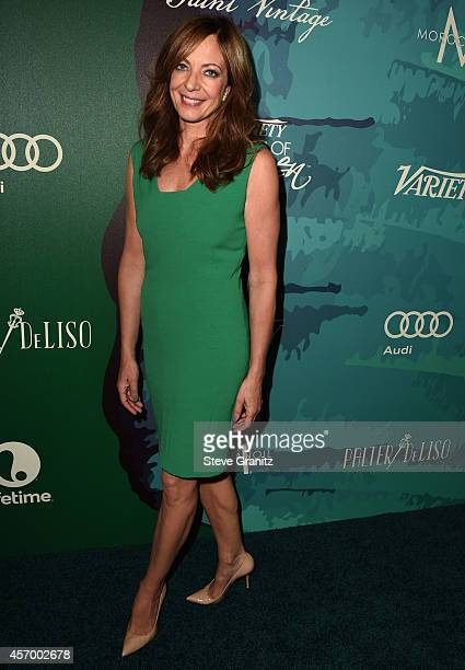 Actress Allison Janney attends Variety's 2014 Power of Women Event in LA presented by Lifetime at the Beverly Wilshire Four Seasons Hotel on October...