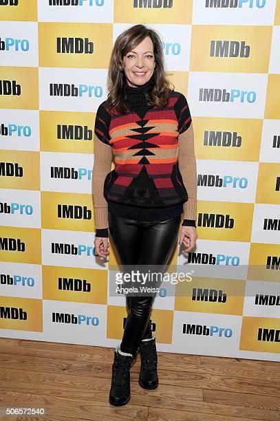 Actress Allison Janney in The IMDb Studio In Park City Utah Day Three on January 24 2016 in Park City Utah