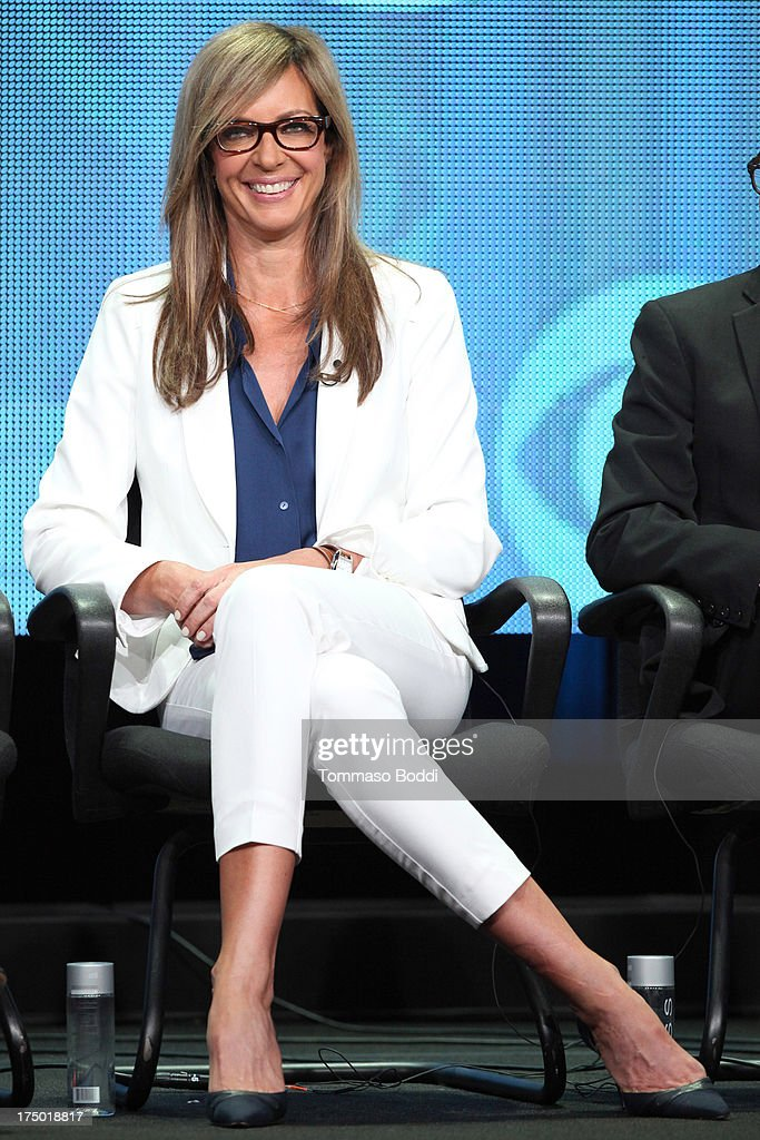 Actress Allison Janney of the TV show 'Mom' attends the Television Critic Association's Summer Press Tour - CBS/CW/Showtime panels held at The Beverly Hilton Hotel on July 29, 2013 in Beverly Hills, California.