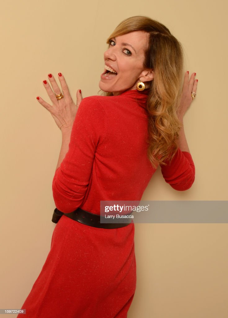 Actress Allison Janney poses for a portrait during the 2013 Sundance Film Festival at the Getty Images Portrait Studio at Village at the Lift on January 19, 2013 in Park City, Utah.
