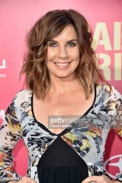 Actress Allison King arrives at the Premiere of Sony Pictures' 'Baby Driver' at Ace Hotel on June 14 2017 in Los Angeles California