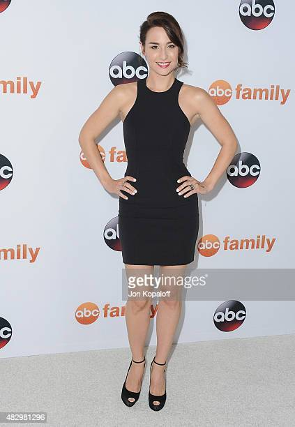 Actress Allison Scagliotti arrives at Disney ABC Television Group's 2015 TCA Summer Press Tour at the Beverly Hilton Hotel on August 4 2015 in...