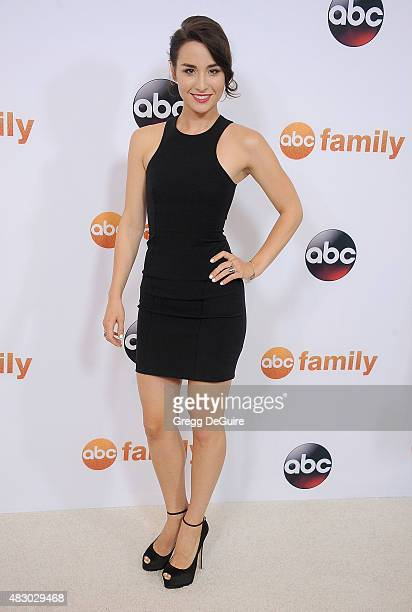 Actress Allison Scagliotti arrives at the Disney ABC Television Group's 2015 TCA Summer Press Tour on August 4 2015 in Beverly Hills California