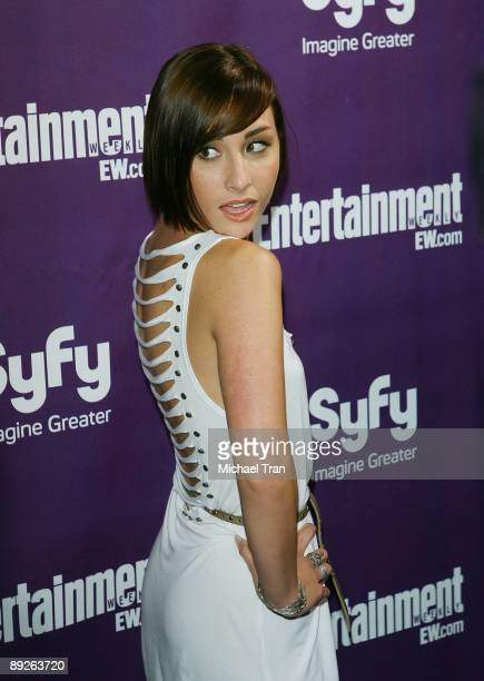 Actress Allison Scagliotti arrives at the EW and Syfy ComicCon party held at the Hotel Solamar July 25 2009 in San Diego California