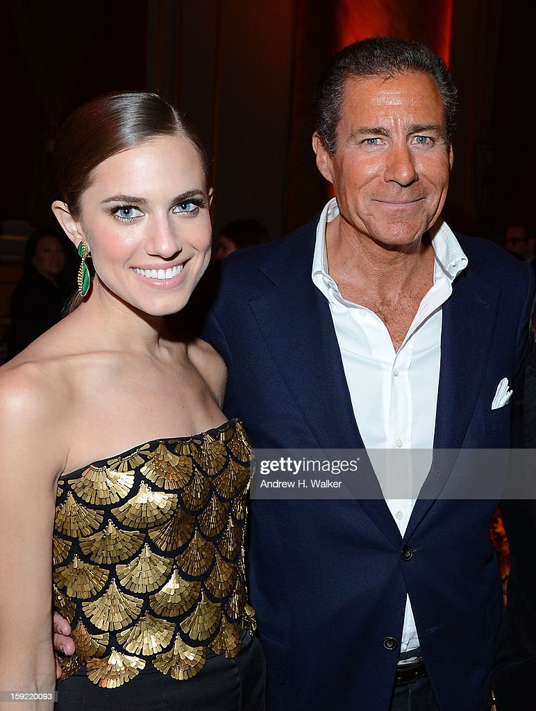 Actress <a gi-track='captionPersonalityLinkClicked' href=/galleries/search?phrase=Allison+Williams+-+Actress&family=editorial&specificpeople=594198 ng-click='$event.stopPropagation()'>Allison Williams</a> and HBO CEO <a gi-track='captionPersonalityLinkClicked' href=/galleries/search?phrase=Richard+Plepler&family=editorial&specificpeople=584118 ng-click='$event.stopPropagation()'>Richard Plepler</a> attend the 'Girls' Season 2 After Party hosted by HBO at Capitale on January 9, 2013 in New York City.