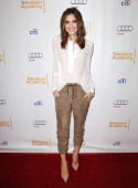 Actress Allison Williams attends an evening with 'Girls' at Leonard H Goldenson Theatre on March 13 2014 in North Hollywood California