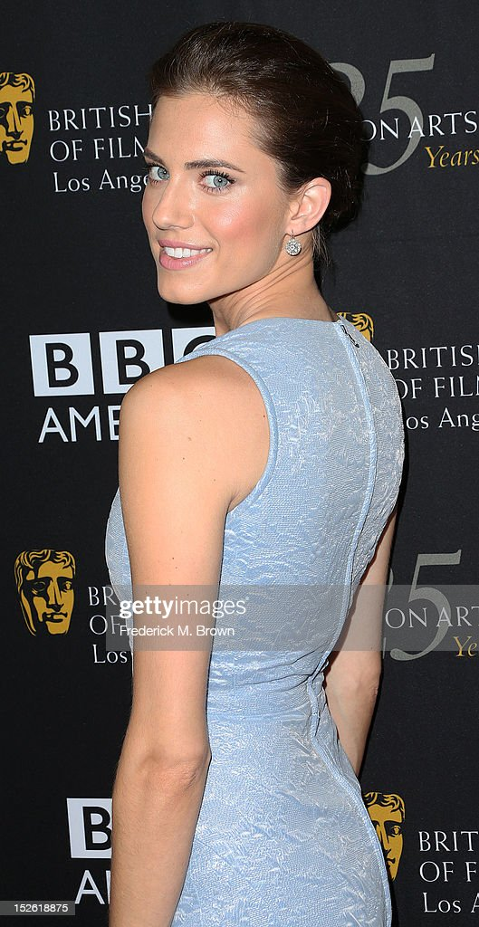 Actress Allison Williams attends BAFTA LA TV Tea 2012 Presented By BBC America at The London Hotel Hollywood on September 22, 2012 in West Hollywood, California.