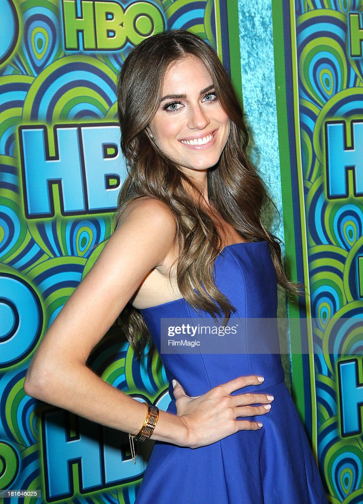 Actress <a gi-track='captionPersonalityLinkClicked' href=/galleries/search?phrase=Allison+Williams+-+Actress&family=editorial&specificpeople=594198 ng-click='$event.stopPropagation()'>Allison Williams</a> attends HBO's official Emmy After Party at The Plaza at the Pacific Design Center on September 22, 2013 in Los Angeles, California.