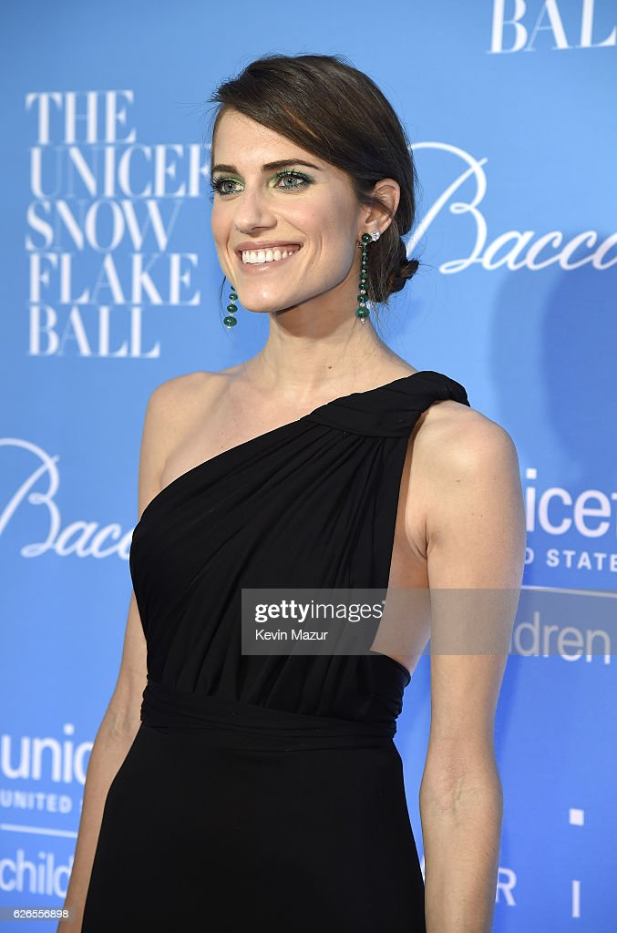 Actress Allison Williams attends the 12th annual UNICEF Snowflake Ball at Cipriani Wall Street on November 29, 2016 in New York City.