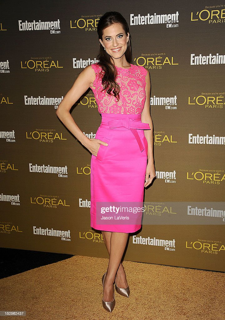 Actress Allison Williams attends the 2012 Entertainment Weekly pre-Emmy party at Fig & Olive Melrose Place on September 21, 2012 in West Hollywood, California.