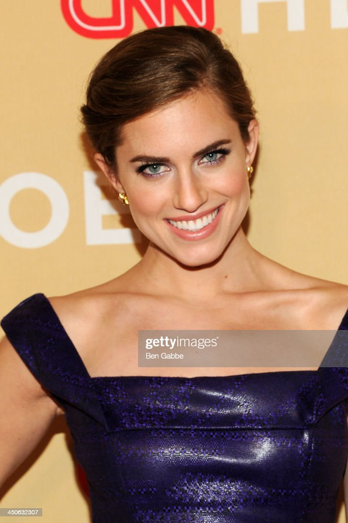 Actress Allison Williams attends the 2013 CNN Heroes at the American Museum of Natural History on November 19, 2013 in New York City.