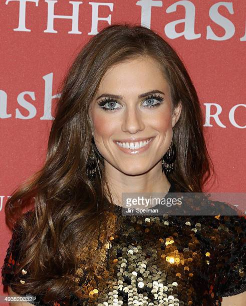 Actress Allison Williams attends the 2015 Fashion Group International's Night of Stars at Cipriani Wall Street on October 22 2015 in New York City