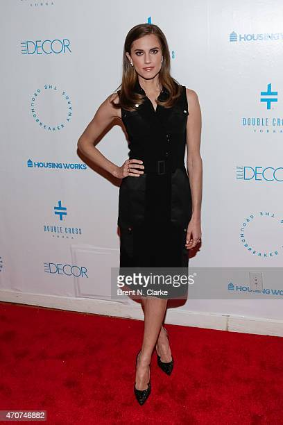Actress Allison Williams attends the 2015 Housing Works Groundbreaker Awards held at Metropolitan Pavilion on April 22 2015 in New York City