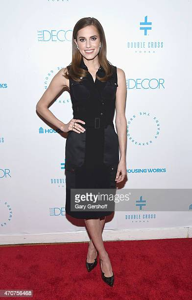 Actress Allison Williams attends the 2015 Housing Works Groundbreaker Awards at Metropolitan Pavilion on April 22 2015 in New York City