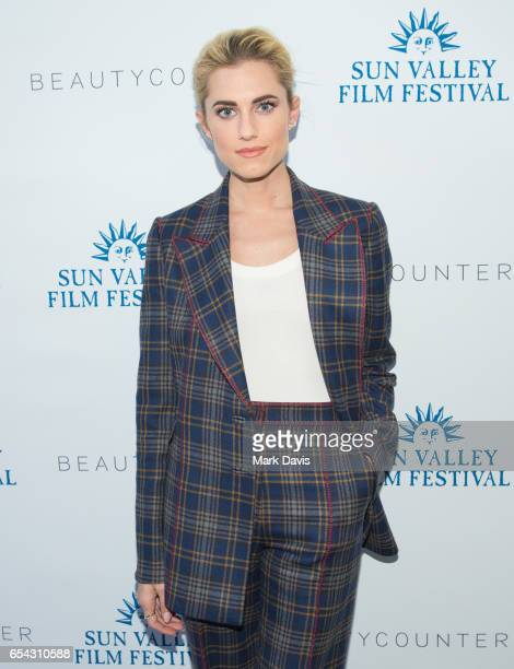 Actress Allison Williams attends the 2017 Sun Valley Film Festival 'Rising Star Reception' on March 16 2017 in Sun Valley Idaho