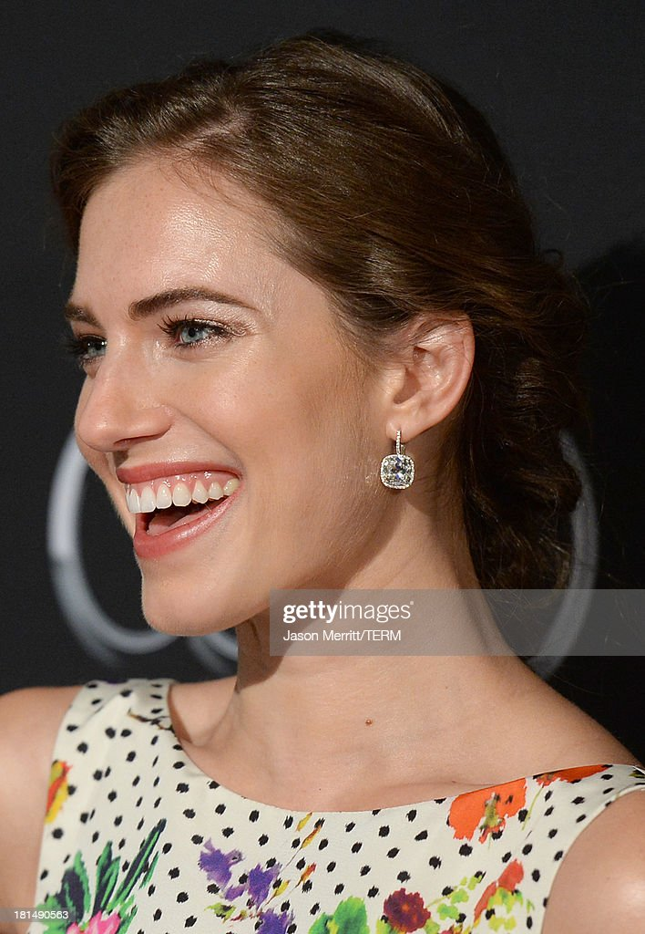 Actress Allison Williams attends the BAFTA LA TV Tea 2013 presented by BBC America and Audi held at the SLS Hotel on September 21, 2013 in Beverly Hills, California.