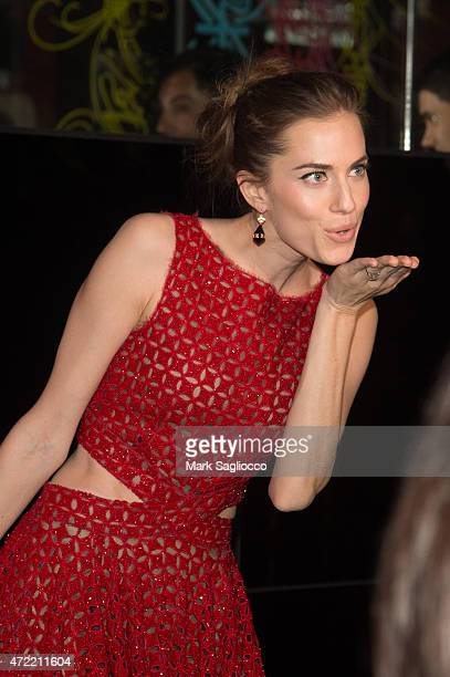 Actress Allison Williams attends the 'China Through The Looking Glass' Costume Institute Benefit Gala After Party on May 4 2015 at The Standard Hotel...