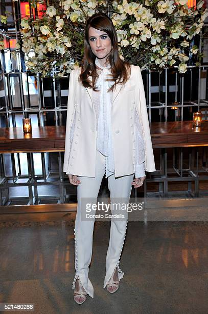 Actress Allison Williams attends 'The First Monday in May' Los Angeles screening hosted by Bryan Lourd Wendi Murdoch Anna Wintour iTunes and Magnolia...