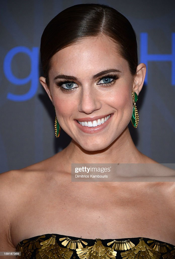 Actress Allison Williams attends the HBO premiere of 'Girls' Season 2 at the NYU Skirball Center on January 9, 2013 in New York City.