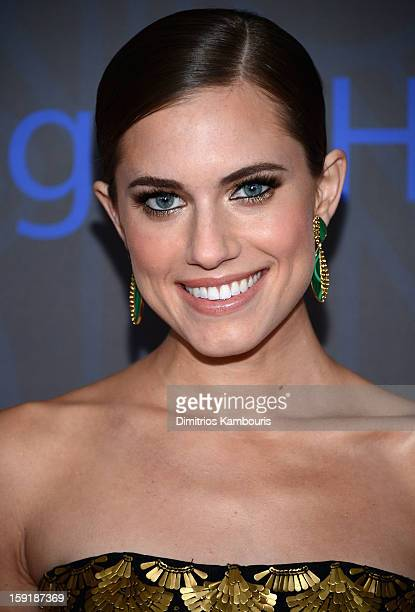 Actress Allison Williams attends the HBO premiere of 'Girls' Season 2 at the NYU Skirball Center on January 9 2013 in New York City