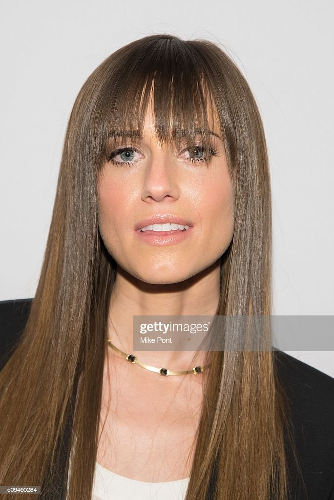 Actress Allison Williams attends the Keds Centennial Celebration on February 10 2016 in New York City
