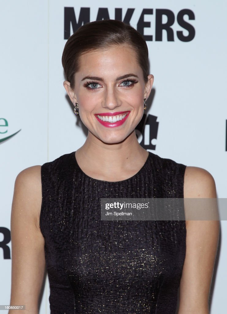 Actress Allison Williams attends the 'Makers: Women Who Make America' New York Premiere at Alice Tully Hall at Lincoln Center on February 6, 2013 in New York City.