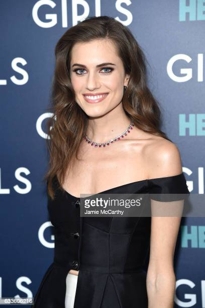Actress Allison Williams attends The New York Premiere Of The Sixth Final Season Of 'Girls' at Alice Tully Hall Lincoln Center on February 2 2017 in...