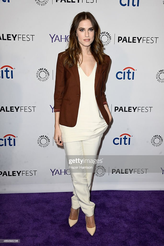 Actress Allison Williams attends The Paley Center For Media's 32nd Annual PALEYFEST LA 'Girls' at Dolby Theatre on March 8 2015 in Hollywood...
