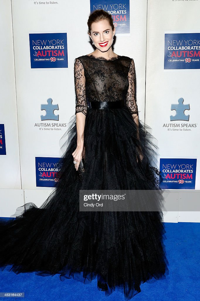 Actress Allison Williams attends the Winter Ball for Autism at Metropolitan Museum of Art on December 2, 2013 in New York City.