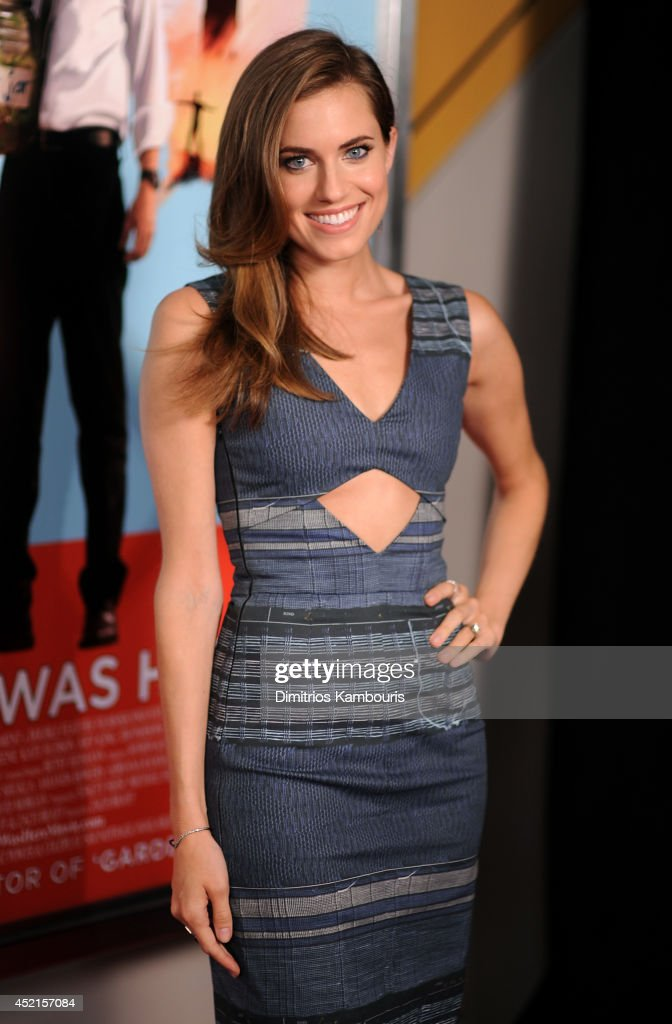 Actress Allison Williams attends the 'Wish I Was Here' screening at AMC Lincoln Square Theater on July 14, 2014 in New York City.