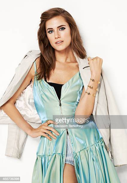Actress Allison Williams is photographed for Glamour Spain on February 21 2013 in New York City