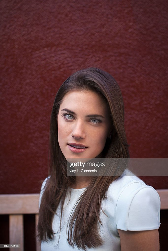 Actress Allison Williams is photographed for Los Angeles Times on March 4, 2013 in Los Angeles, California. PUBLISHED IMAGE.